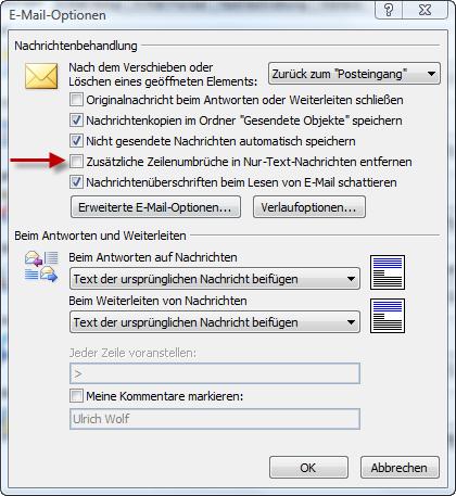 Как сделать переадресацию из outlook на mail