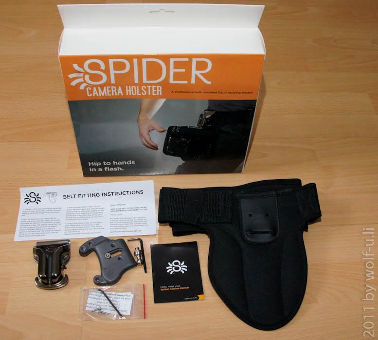 Review & Test des SpiderPro Hüft-Tragesystem für DSLR