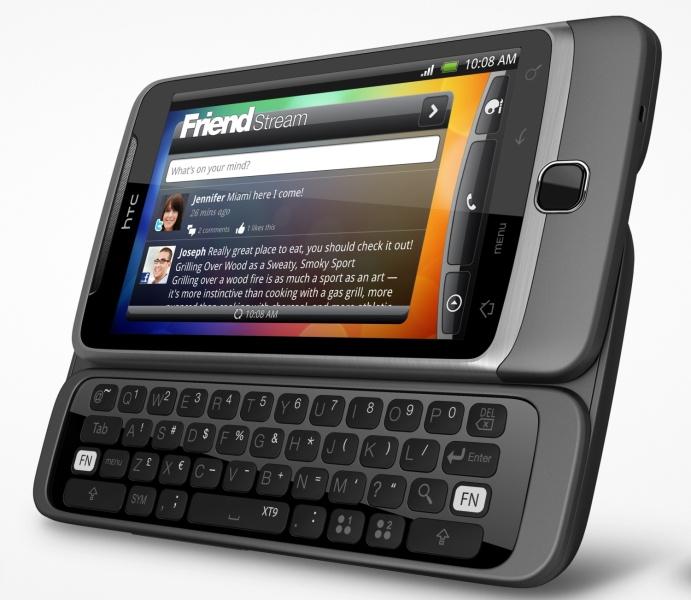 Tausch des Tastaturlayout von QWERTZ zu QUERTY oder QWERTY zu QWERTZ auf dem HTC Desire Z