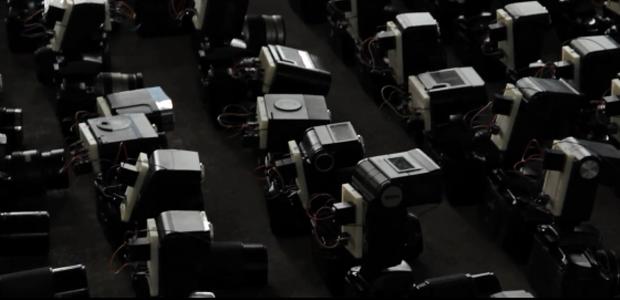 Materialschlacht mit 250 Canon 60D, 250 Blitzen und vielen Arduino-Boards