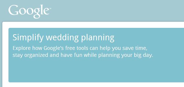 Hochzeitsplanung mit Google Wedding Planning