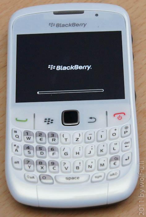 Blackberry Curve 8520 - Einrichtung
