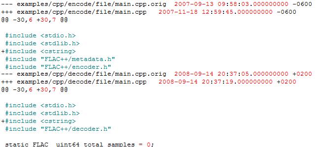 """Fehler während der Kompilierung von flac: """"'memcmp' was not declared in this scope"""""""