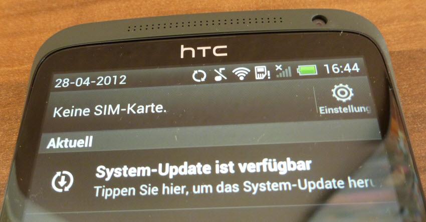 HTC One X Einrichtung