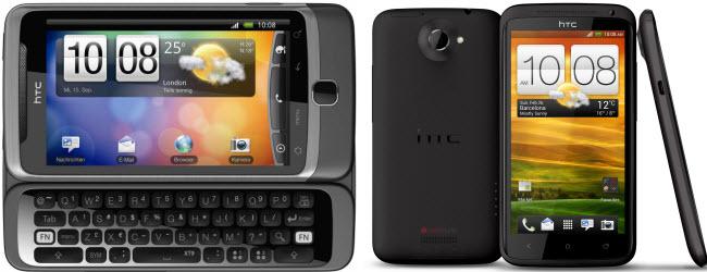 Test und Review des HTC One X – Vergleich der technischen Daten mit dem HTC Desire Z