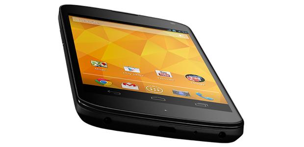 Service Menü des Google Nexus 4