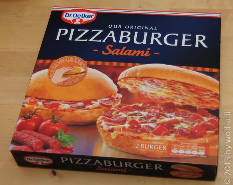 Review der Dr. Oetker Pizzaburger – Auspacken und erster Eindruck