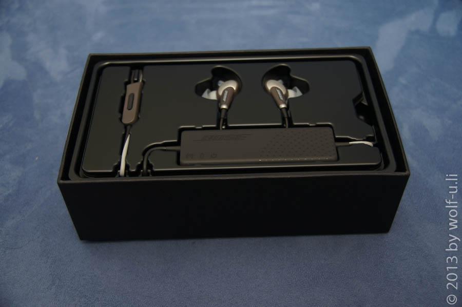 Review und Test der Bose Quiet Comfort 20 (QC20) – Erste Bilder