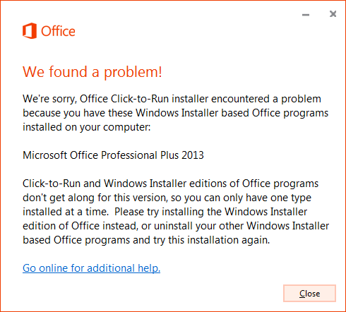 Microsoft Project 2013 Professional ohne Click-to-Run installieren