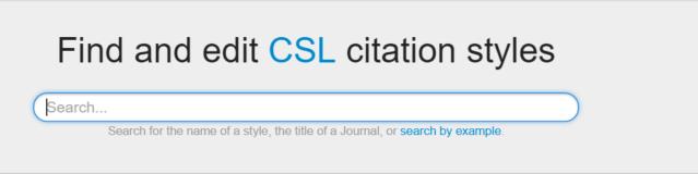 Visual CSL Editor für die visuelle Änderung von Zotero Zitierstilen