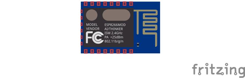 Fritzing-Dateien für den ESP8266