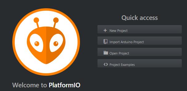 Nutzung von platform.io im Atom Editor zur Entwicklung von Arduino Code